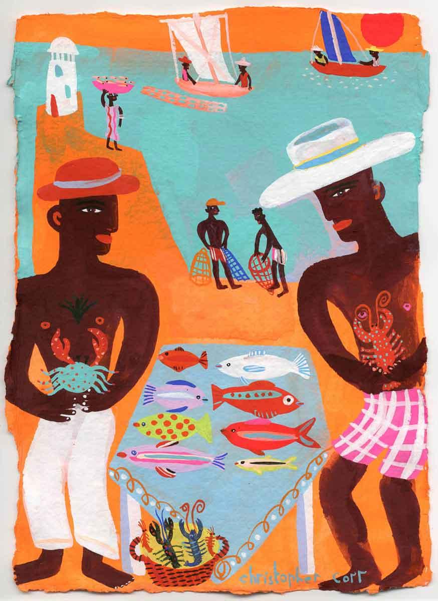 Art-Brazil-fish-market