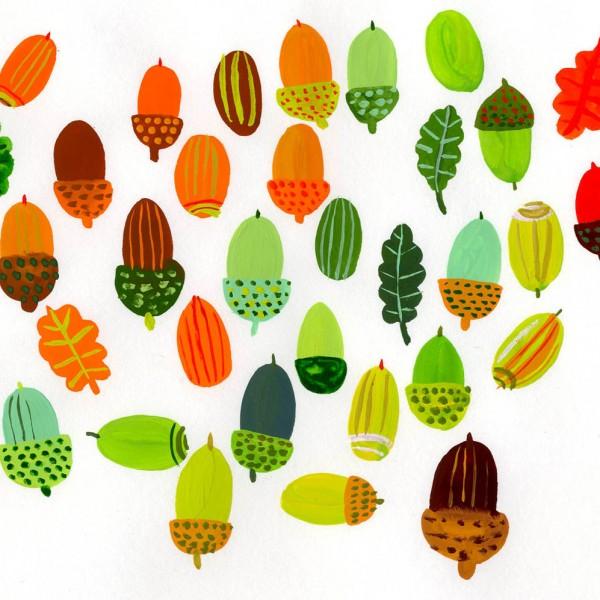 _Book-Acorns-and-oak-leaves