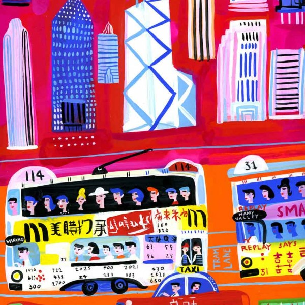 Portfolio-HongKong-traffic