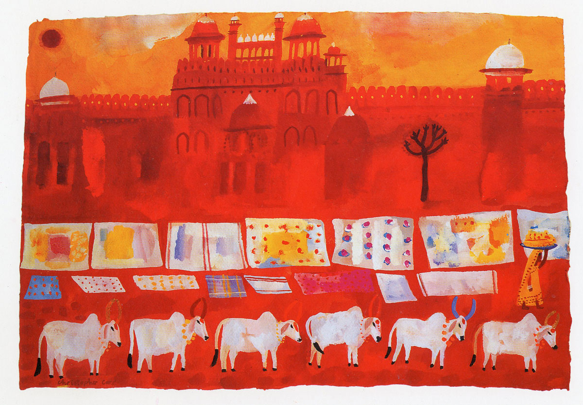 Archive-India-Red-fort