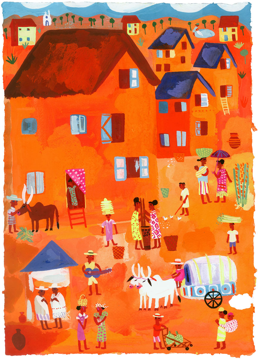 Archive-Madagascar-village