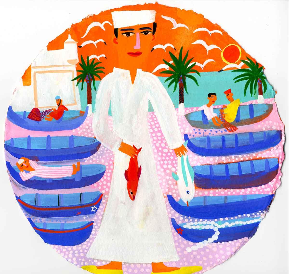 Art-Fishing-boats-in-Essaouira