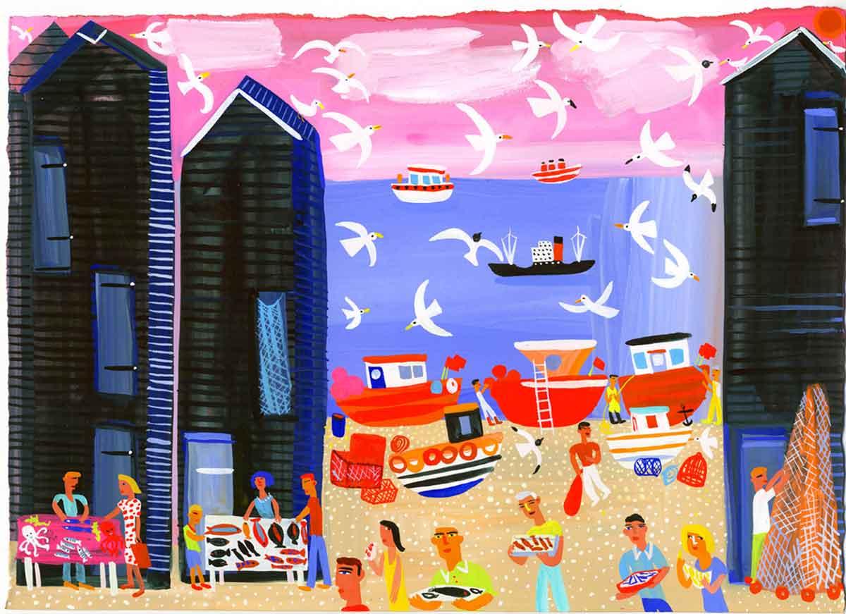 Art-Hastings-Fishing-sheds