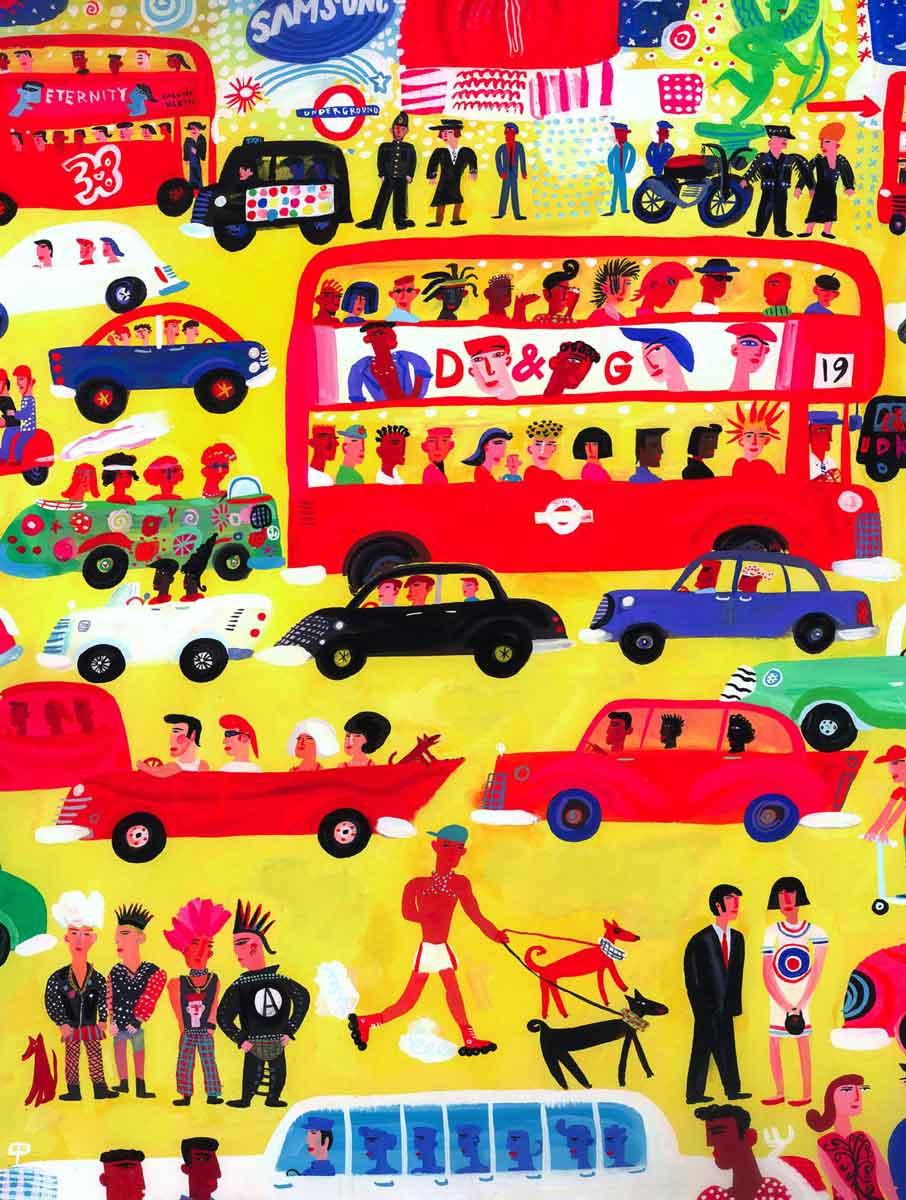 Portfolio-London-traffic