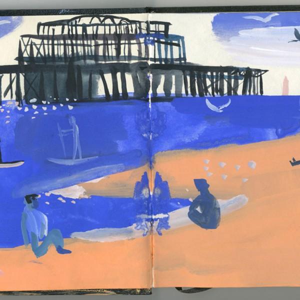 Sketch-Brighton-Beach