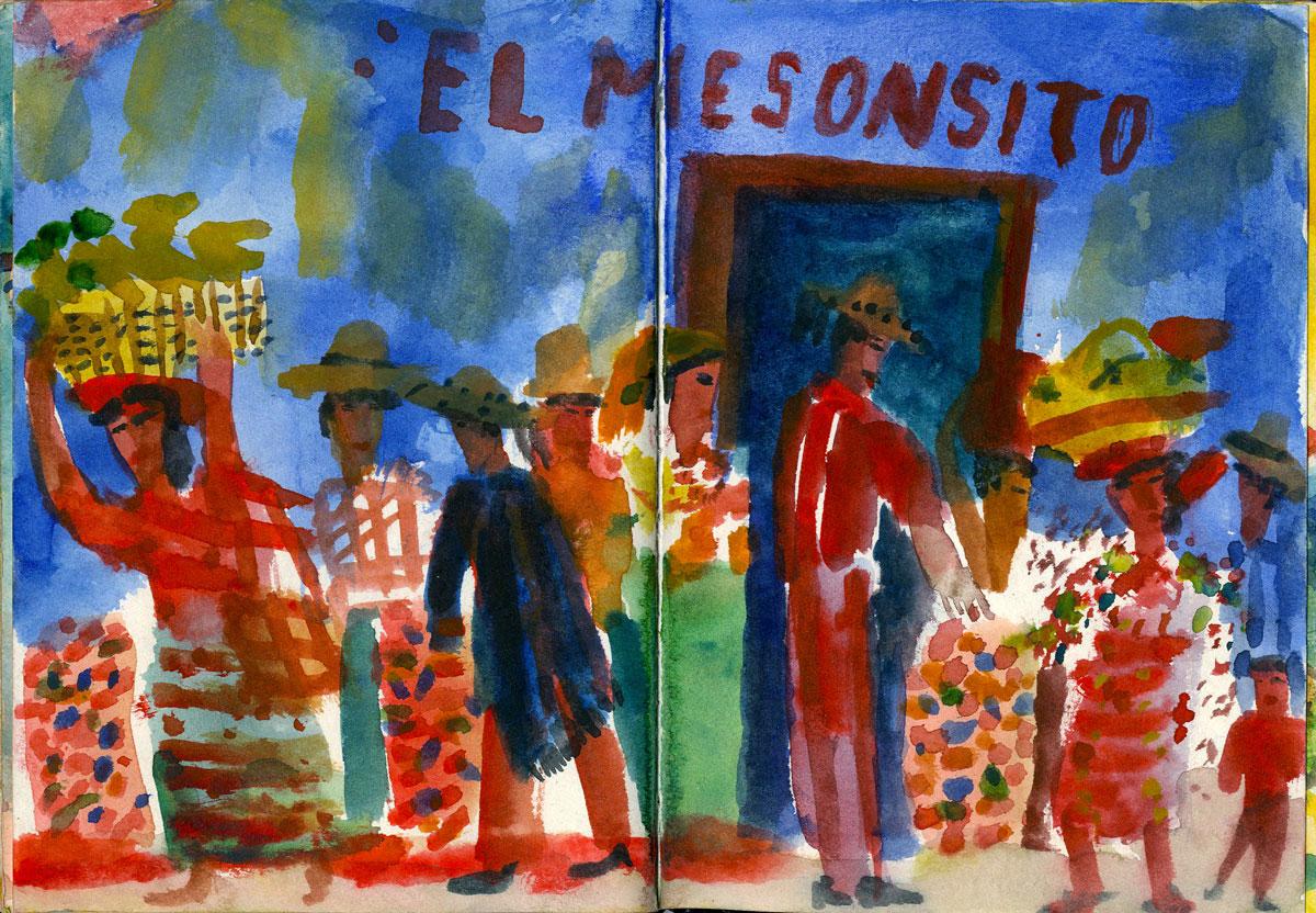 Sketch El Mesonsito Merida