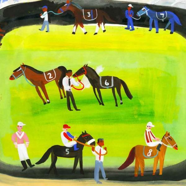 Sketch Jockey enclosure