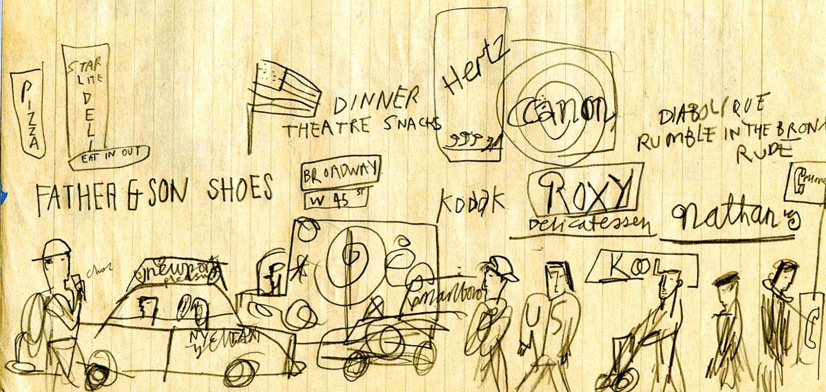 Sketch-NYCstreet