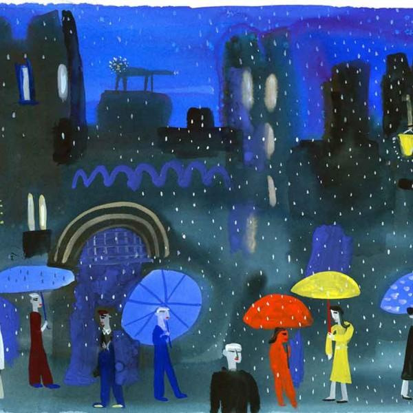 Sketch-raining-in-Arundel